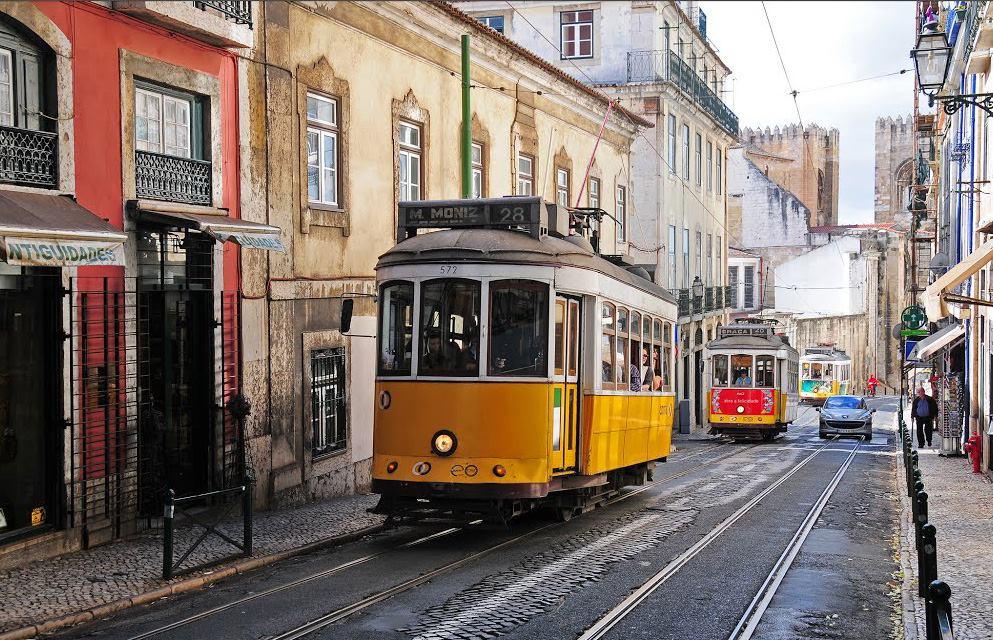 Rua Augusto Rosa, tram 28