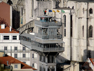 Historic Lisbon buildings