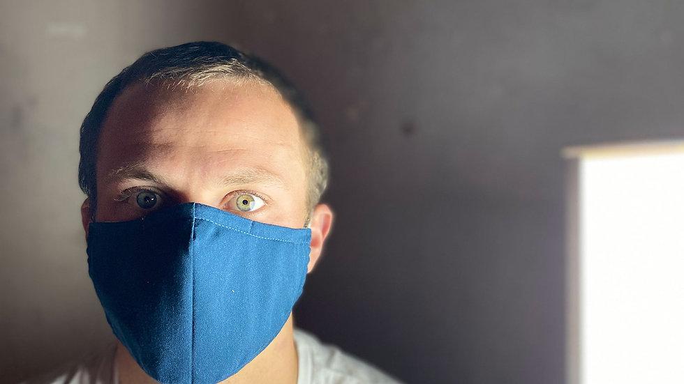Anti Corona Face mask - Couture - Blue
