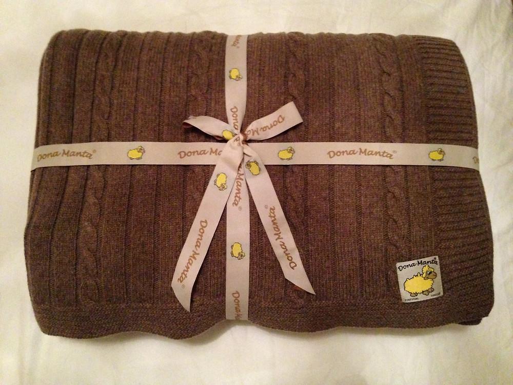 Dona Manta woollen blanket