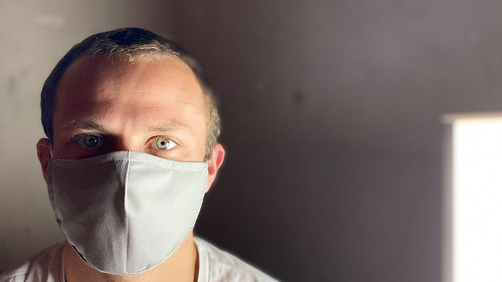 Anti Corona Face mask - Couture - Grey