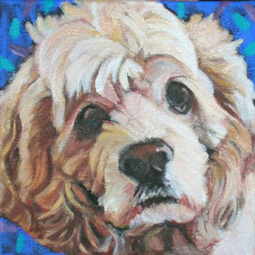 "6"" x 6"" Custom Pet Portrait"