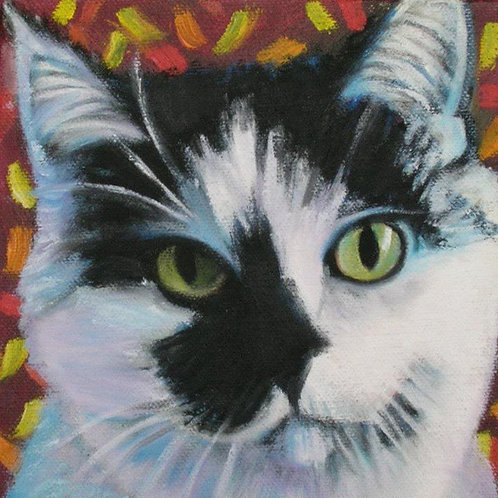 Custom Pet Portrait by Karen Seltzer of BEST IN SHOW Pet Portraits