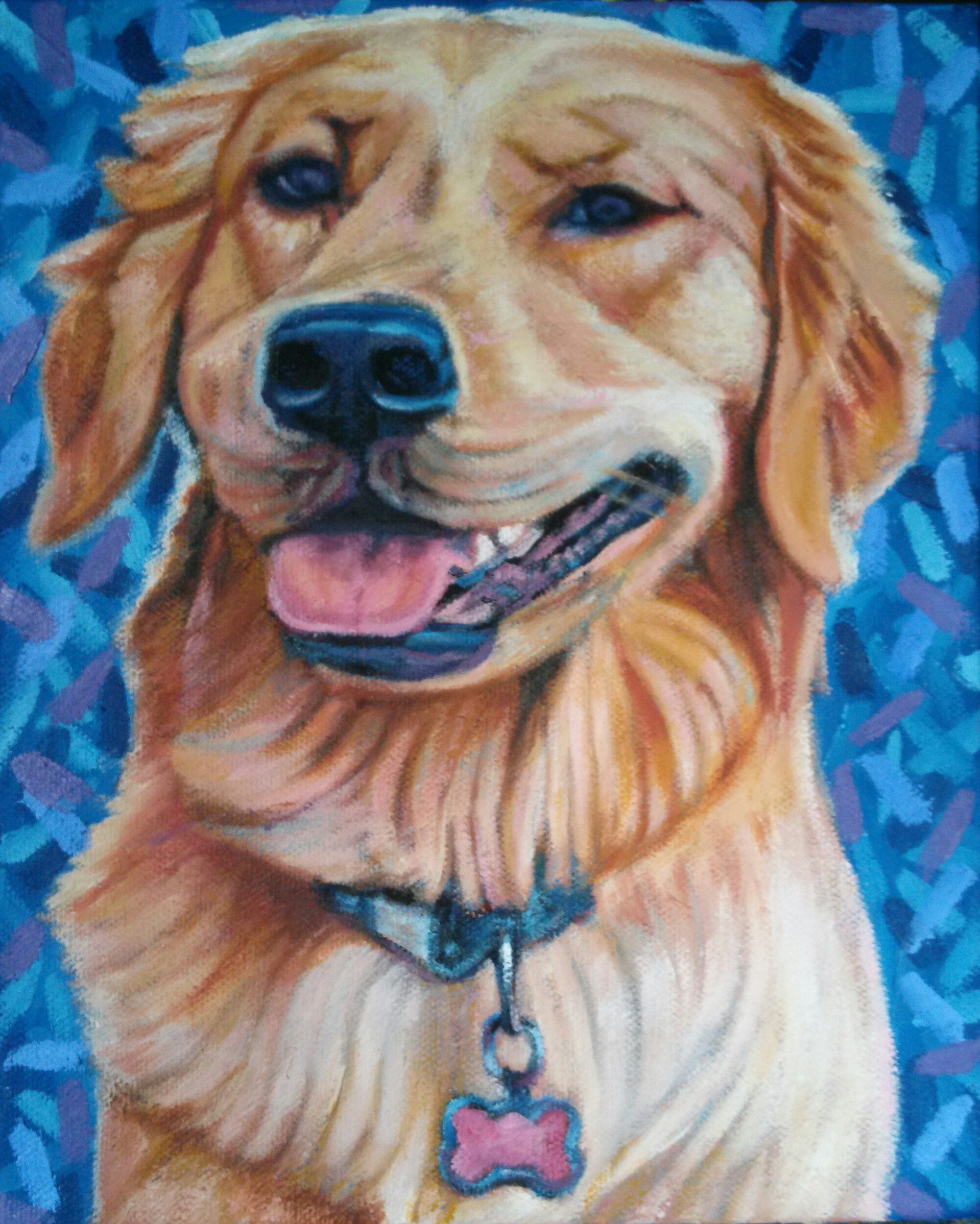 Madone, the Golden Retriever