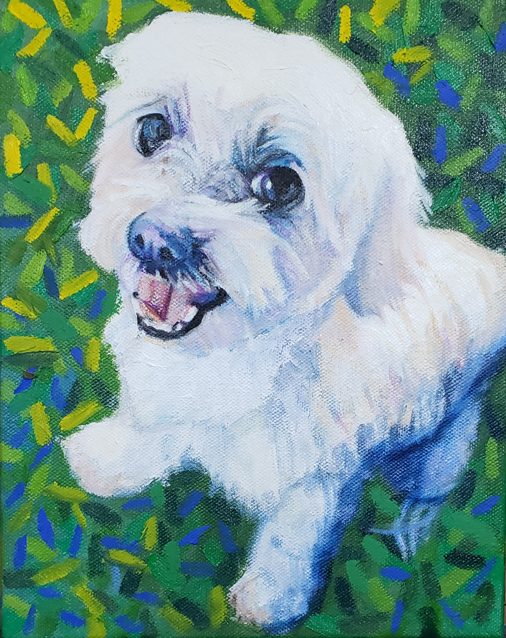 "Max 8"" x 10"" pet portrait"