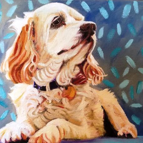 Miss Gatsby, Oil on Canvas