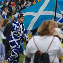 Scottish Independance March 2