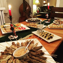 Intimate Christmas Party
