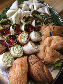Assorted Sandwiches and Wraps