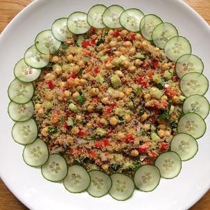 Quinoa Salad🌺 #veganandglutenfree