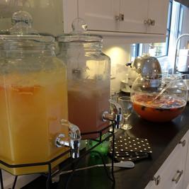 Rosé Lemonade, and Fruit Punch