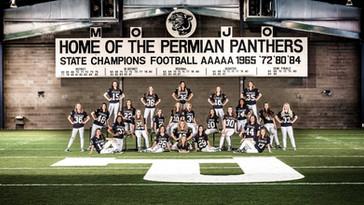 2018 Panther Paws Calendar Pic