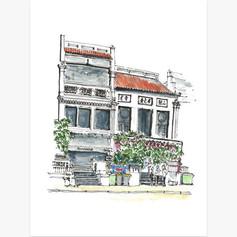 Shophouses Along Mohd Sultan Road