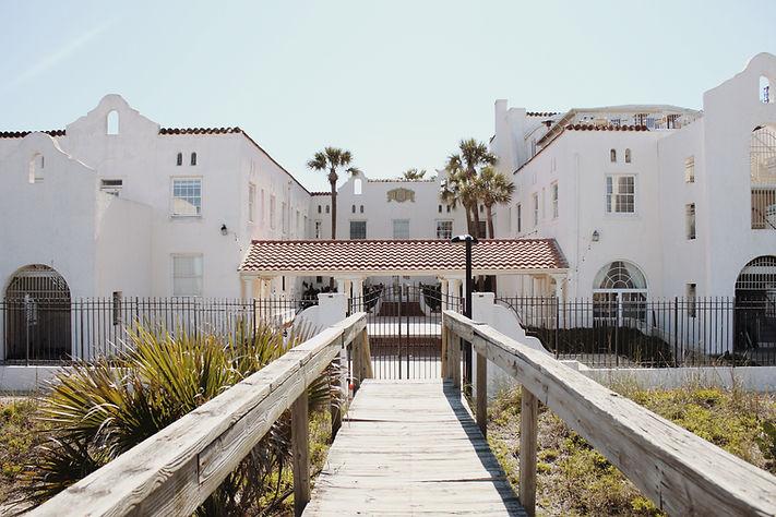 Back of The Casa Marina Hotel