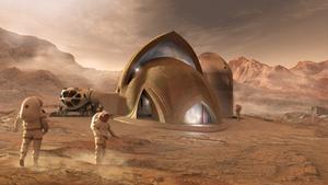 화성의 새로운 건축가들