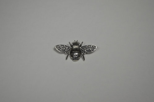 Honey Bee; Sterling Silver Broach