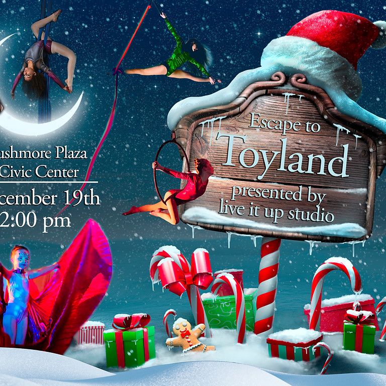 Escape to Toy Land General Admission Seating
