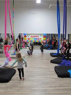 Birthday Party - Aerial Silks - Dance - Live It Up Studio - Rapid City, SD