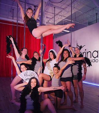 Polerina Studio - Pole Party - Bachelorette Party