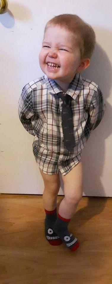 Hunter Dressed