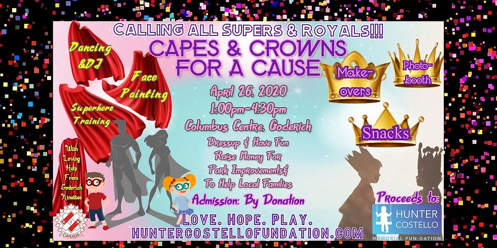 Capes  & Crowns for a Cause