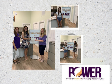 Winners of The POWER of Women Exchanging Resources, Inc. Scholarship