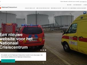 Nieuwe website Nationaal Crisiscentrum