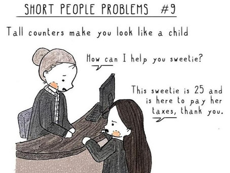 Systemic exclusion through the lens of a short person