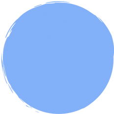 """Request the newsletter"" inside dark blue circle"