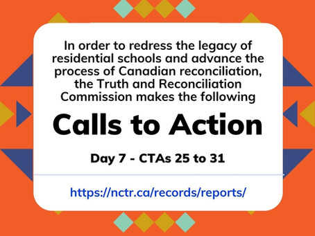 TRC CTAs 25-31: Justice for Indigenous peoples