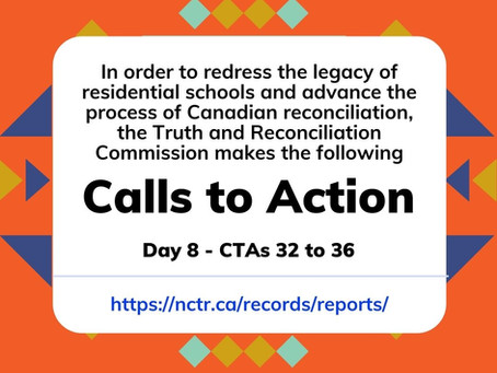 TRC CTAs 32-36: Mental health and trauma intersects with justice for Indigenous peoples