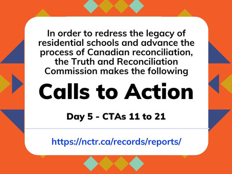 TRC CTAs 11-21: Healthcare rights for Indigenous peoples - remembering Joyce Echaquan
