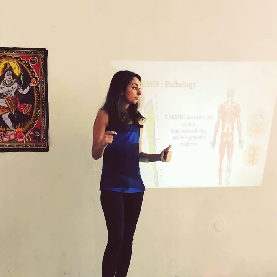 Enseignante en anatomie