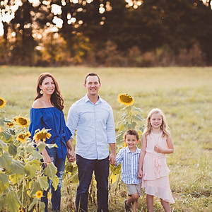 Sunflower Family Sessions