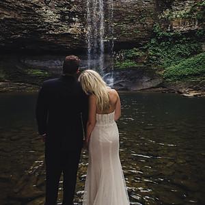 {Montgomery} Waterfall Elopement