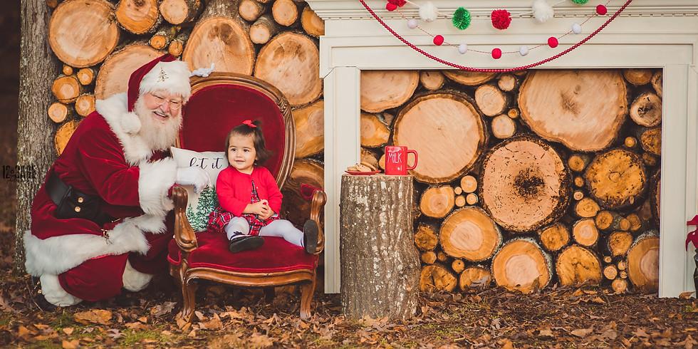 Log Wall Christmas Mini Sessions (Nov 13)
