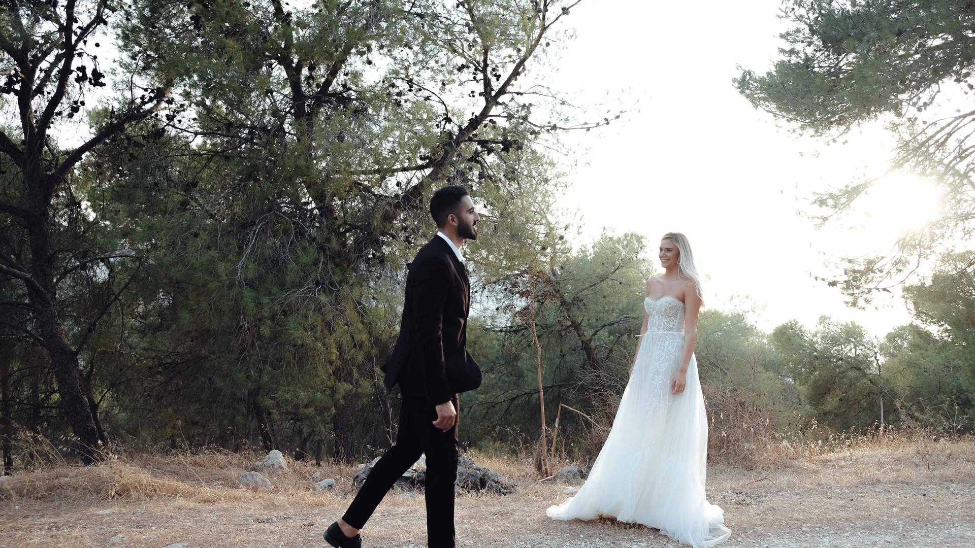 צלם לחתונה קטנה בצפון