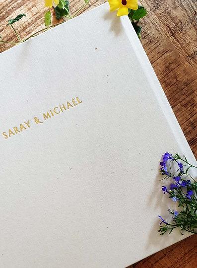 אלבום חתונה מעוצב