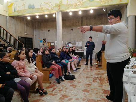 Campaña Vocacional en San Román