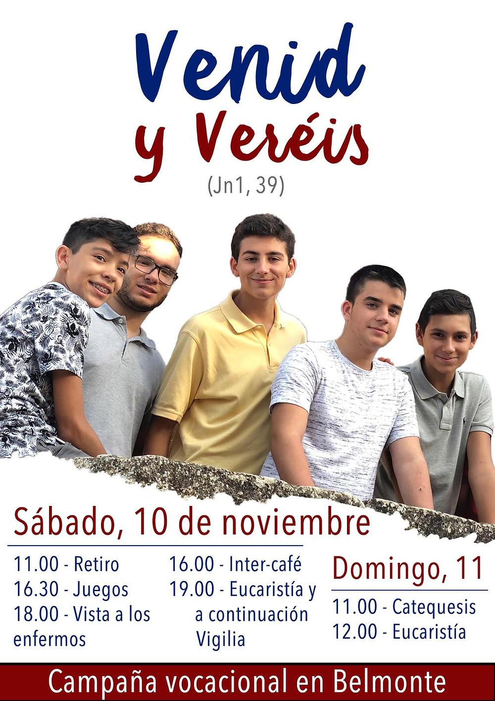 Campaña Vocacional en Belmonte Seminario Cuenca