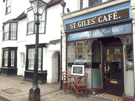 St Giles cafe