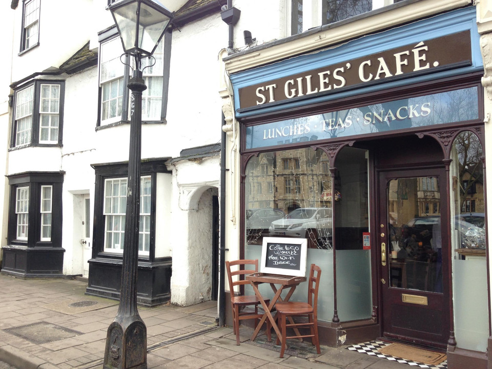 St Giles cafe