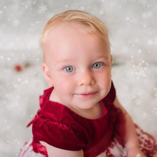 2020 Christmassy photoshoot wirral studio