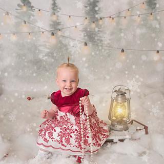 Christmassy photoshoot wirral studio