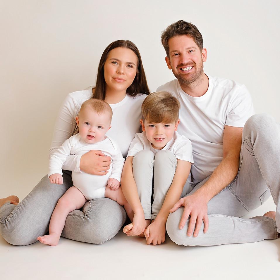 stunning family photos wirral studio