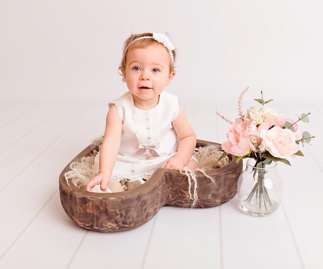 Baby Milestone photography studio, Wirral
