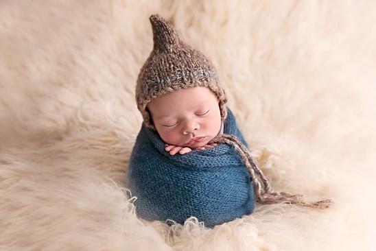 Potato sack pose Newborn Photos Wirral