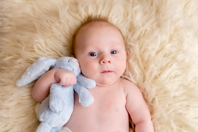 Baby and newborn professional photos