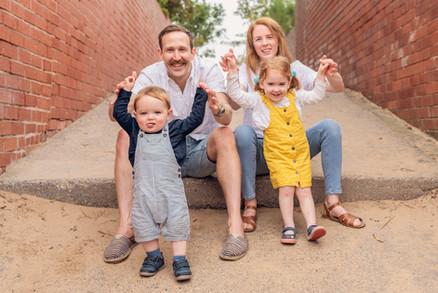 fun family outdoor shoot