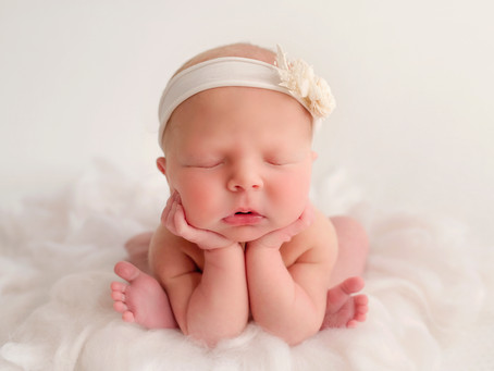 The Froggy Pose, Newborn Photography Wirral